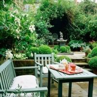 Garden ideas | Garden furniture | Garden bench | Painted ...
