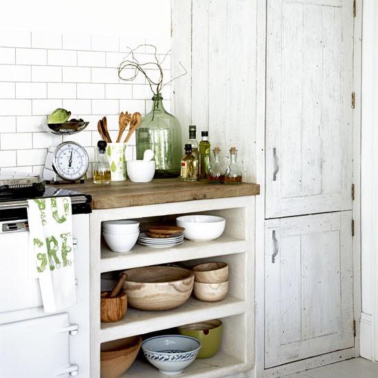 open rustic kitchen cabinets Rustic kitchen storage | Kitchen design ideas | Kitchen