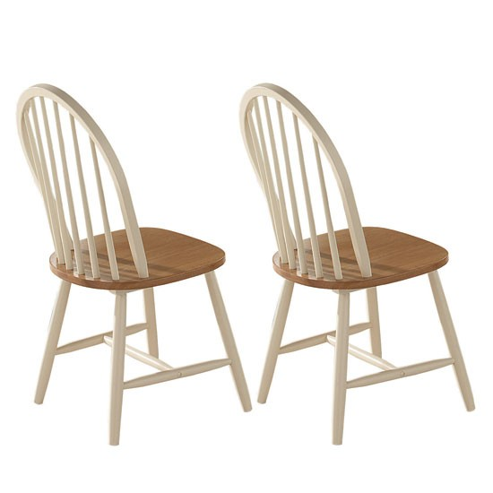 Buttermilk Foxcote kitchen chairs from Scotts of Stow