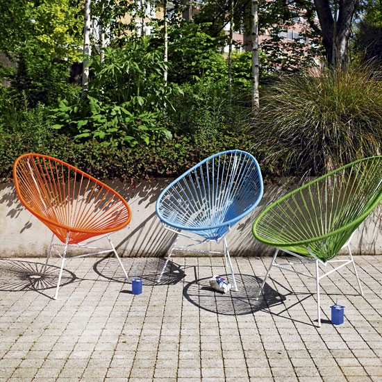 Garden Furniture Uk Photograph Colourful Garden Chairs G