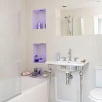 Unique bathroom lighting   Bathroom designs   image ...