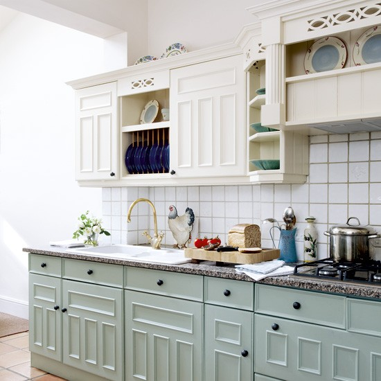 pastel kitchen Pastel painted country kitchen | Kitchen designs | Kitchen decorating ideas | housetohome.co.uk