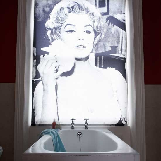 Statement blind   Bathroom finishing touches   Bathroom accessories   PHOTO GALLERY   Housetohome