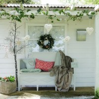 Create a festive outdoor space | Country Christmas ...