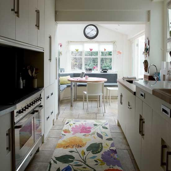 small narrow kitchen designs Narrow modern kitchen | Kitchen decorating ideas | Small