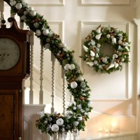 Decorate your banister | Essential Christmas decorations ...