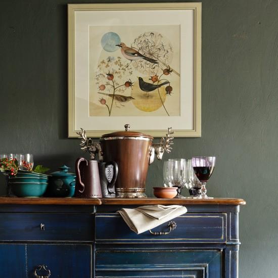 Living room sideboard display  Living room decorating ideas  Sideboards  housetohomecouk