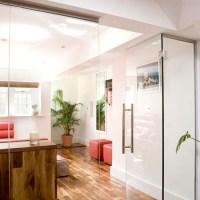 Glass doors room divider | Room dividers  10 inspiring ...