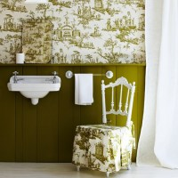Bathroom wallpapers   housetohome.co.uk