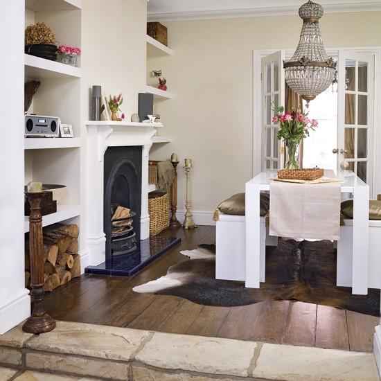 Classic dining room  Dining room storage  housetohomecouk