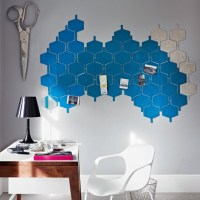 Quirky home office memo board | Modern home office ...