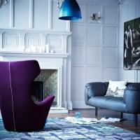 Dramatic living room | Modern living room | housetohome.co.uk