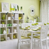 Zingy green dining room | Modern dining room | housetohome ...