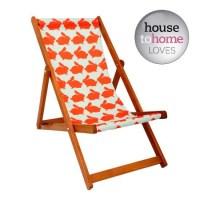 New kissing Rabbit deckchair from Anorak | Garden ...