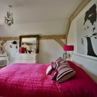 Large print bedroom | Teenage girls bedroom ideas ...
