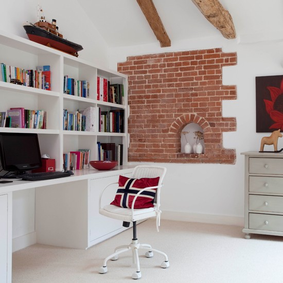 Home office | Converted 18th-century barn house tour ...