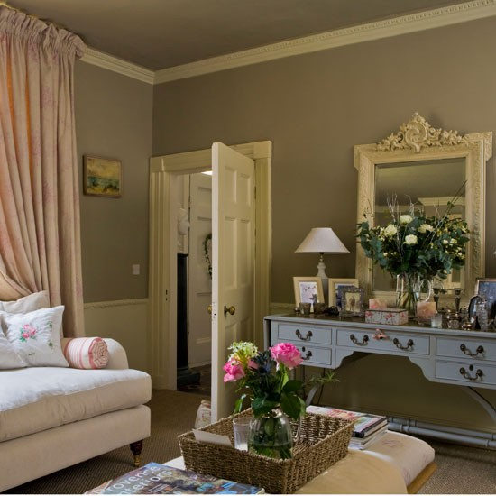 Living room  Step inside this elegant Georgian house tour