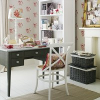 Go for a feminine country home office   5 clever ideas for ...