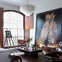 Dramatic living room | Living room | Living room ...