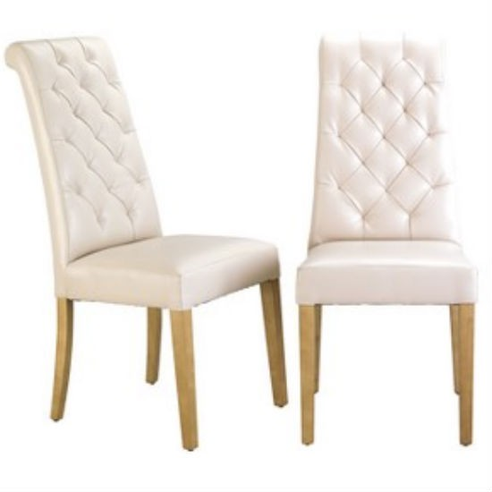 Sheraton quilted dining chair from Littlewoods  Dining