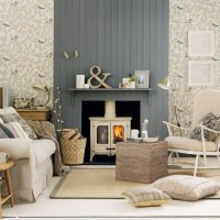 Neutral country living room | Living room decorating ideas ...