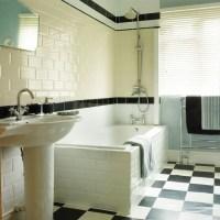 50s-style bathroom | Bathroom | housetohome.co.uk