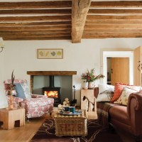 Cosy country living room | Living room | housetohome.co.uk