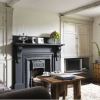 Painting A Fireplace And Alcoves | Interior Design Ideas