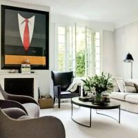 Retro modern-style living room | living room | housetohome ...