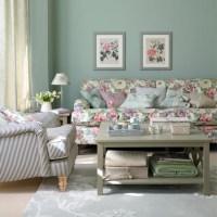 Aquamarine country living room | living room ideas ...