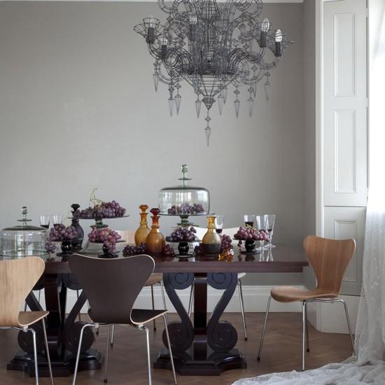 Gothic dining room  Modern dining room ideas  housetohomecouk