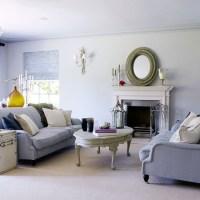 Soft grey living room | Traditional living room ideas ...