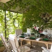 Vine-covered garden room   Garden rooms   housetohome.co.uk