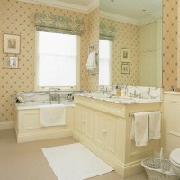 Delicate geometric wallpaper | Bathroom wallpaper - 10 ...