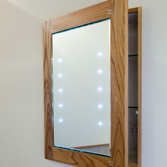Recessed mirror cabinet  Be inspired by a countrystyle