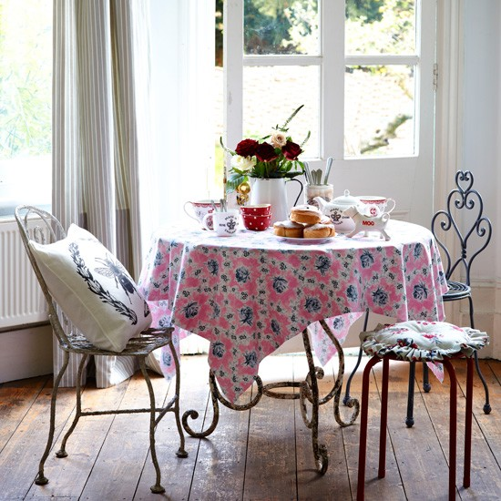 Vintagestyle dining room  Country dining room ideas