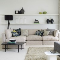 Use shelves for storage or display | Family living room ...