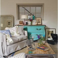 Vintage-style country living room | Living room ideas ...