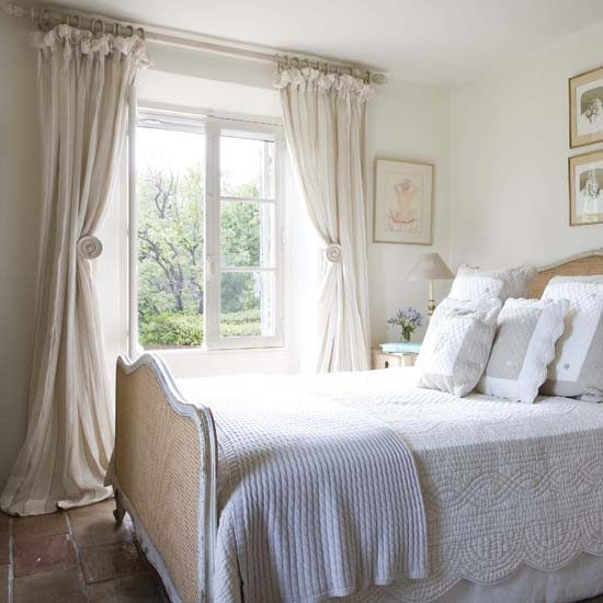 french bedroom curtains Master bedroom | House tour | French country house