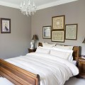 Classic bedroom with a sleigh bed bedroom decorating ideas photo