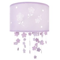 Girl's Flower ceiling shade, Laura Ashley