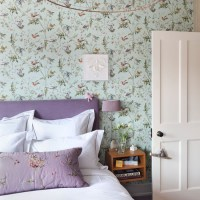 Green and purple country bedroom | Bedroom designs ...