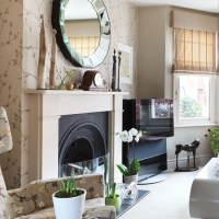 Luxurious neutral living room | Living room designs ...