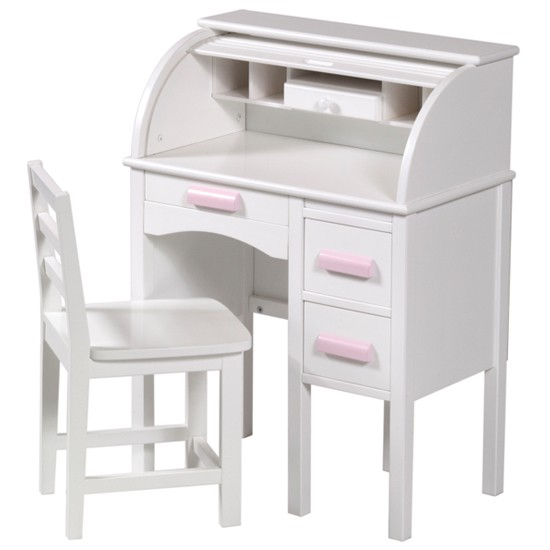 Guidecraft jr rolltop desk in white from Kids playstore