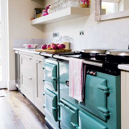 Aga  Be inspired by an elegant painted kitchen