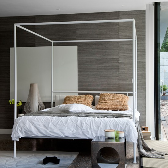Modern fourposter bedroom  housetohomecouk