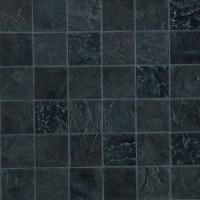 Black Mosaic Tiles Texture