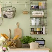 Wire kitchen shelving | Storage decorating ideas ...