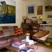 Eclectic vintage living room | housetohome.co.uk