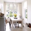 Simple neutral dining room traditional dining rooms housetohome co